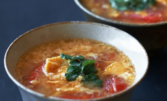 005r_Egg Drop Soup with Tomatoes